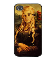 funda iphone daenerys targaryen monalisa - Juego de Tronos en los siete reinos