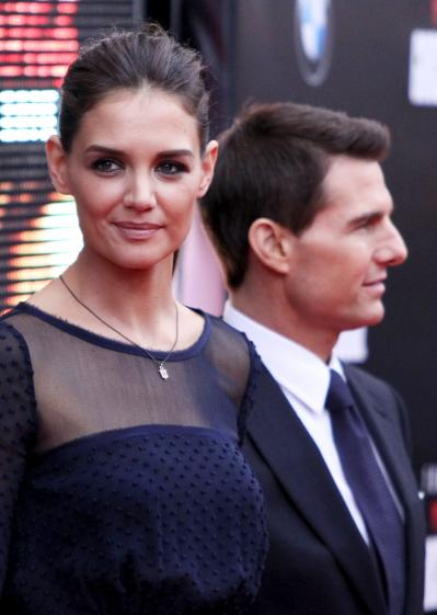 Tom Cruise-Katie Holmes Prenup: How Much Will She Get in the Divorce? » Gossip/Katie Holmes - Tom Cruise