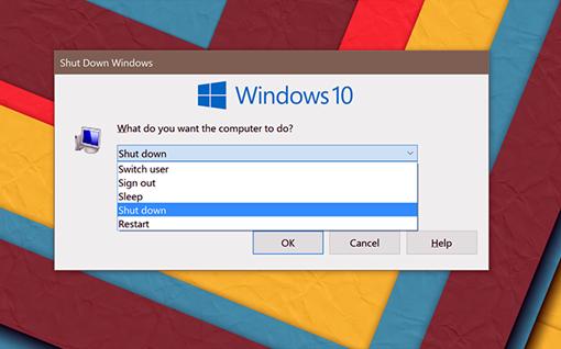 Forma coimo usuário desliga o Windows pode afetar consumo de energia e velocidade de inicialização