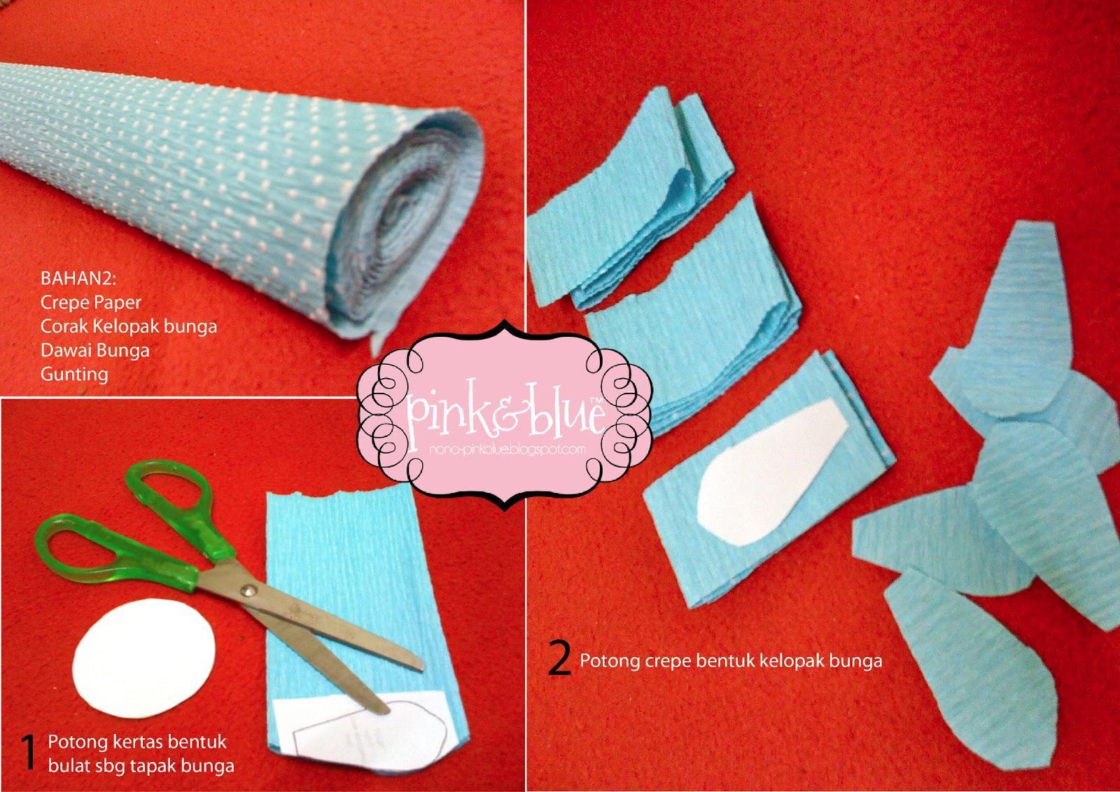 DIY Bunga Telur: Daisy Crepe Paper