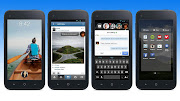 Home, the social network's new user interface for Android, .