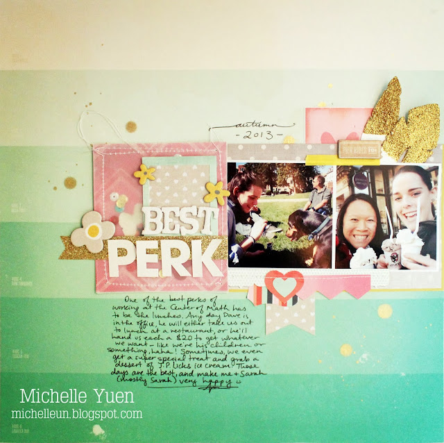 Scrapbooking layout by Michelle Yuen - michelleun.blogspot.com