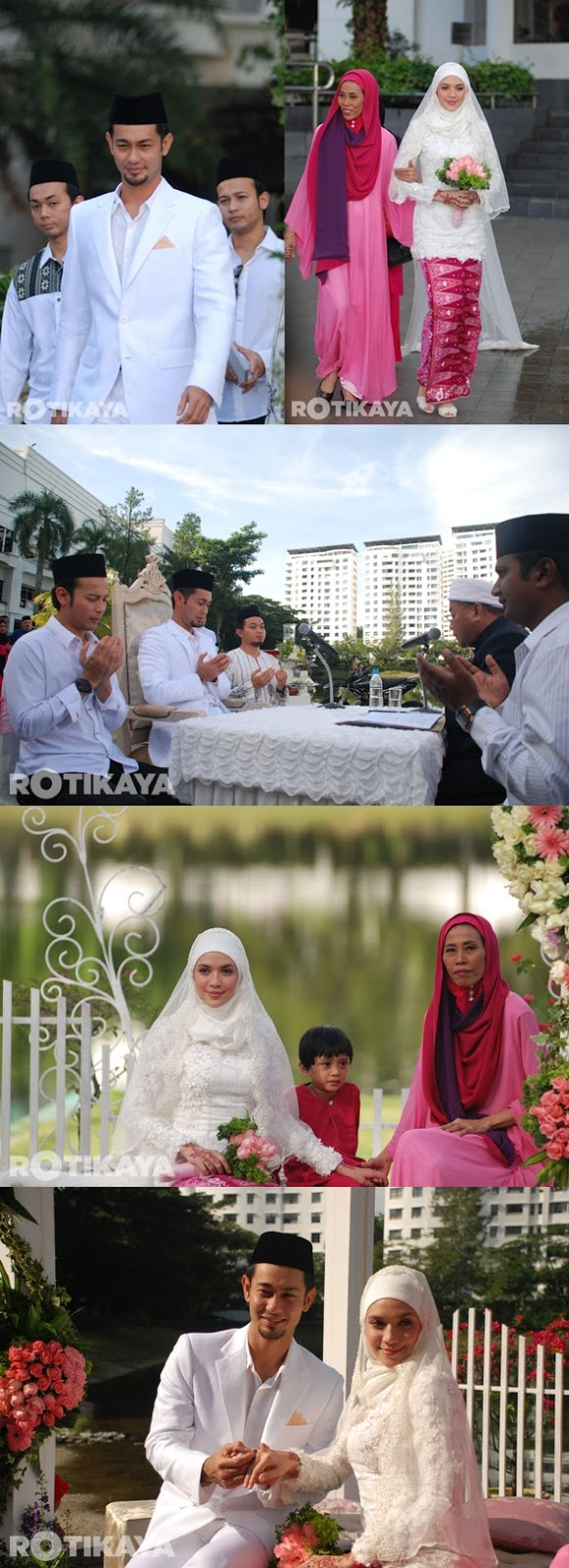 Gambar Pernikahan Farid Kamil & Diana Danielle