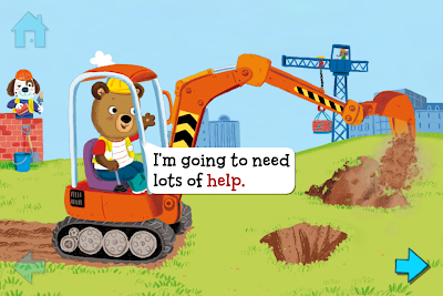 Bizzy Bear Builds a House, iPad, iPhone, App, Review