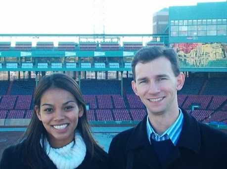 Standing on the Green Monster at Fenway Park | Taste As You Go