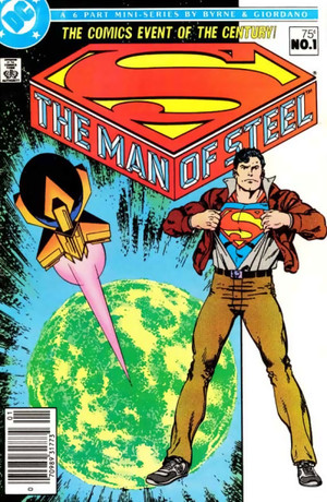 photo: John-Byrne-Man-of-Steel-1-Cover