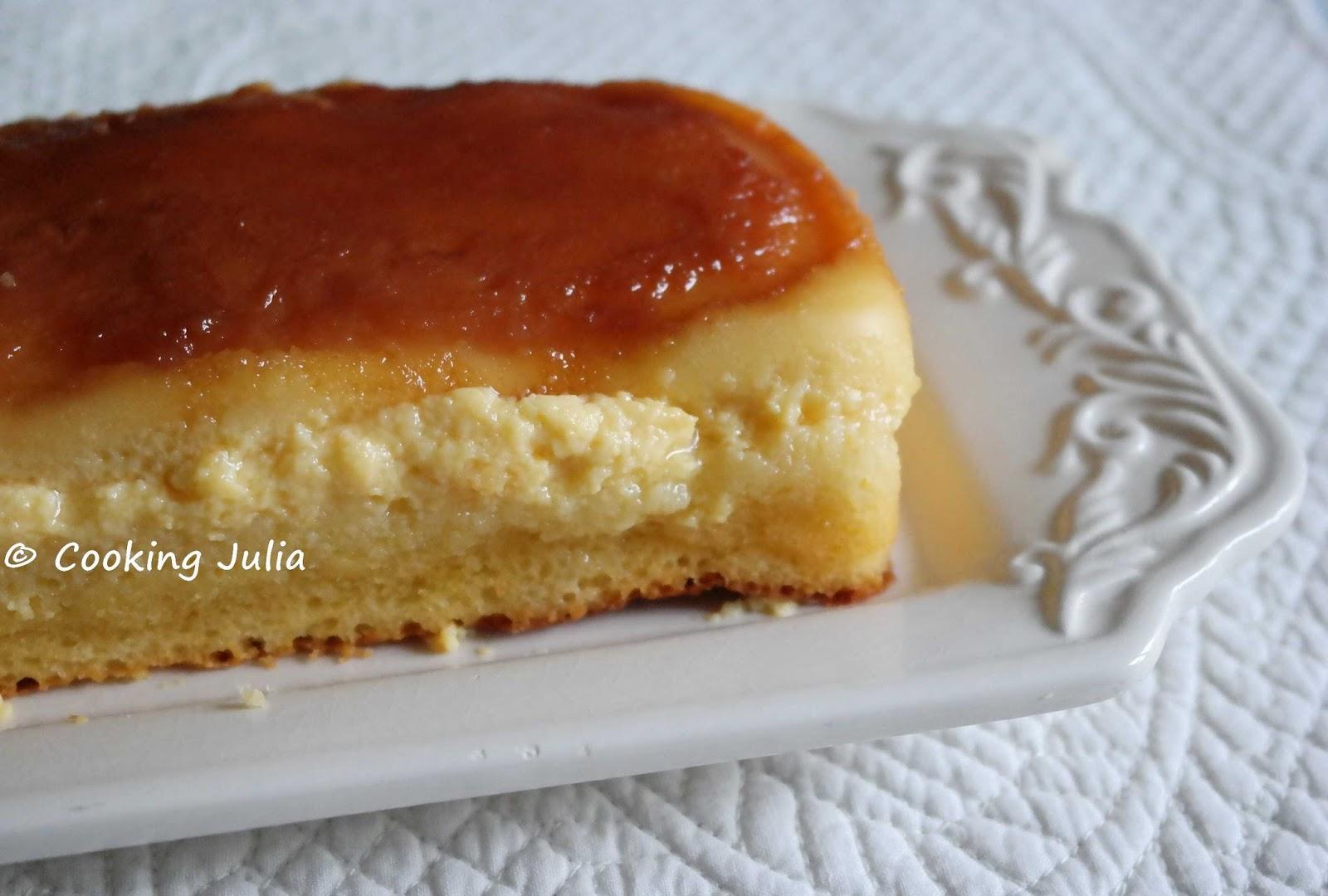 Cooking Julia Cake Au Flan