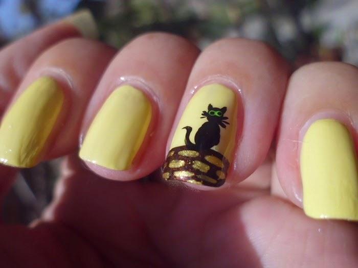 manicuras con gatitos