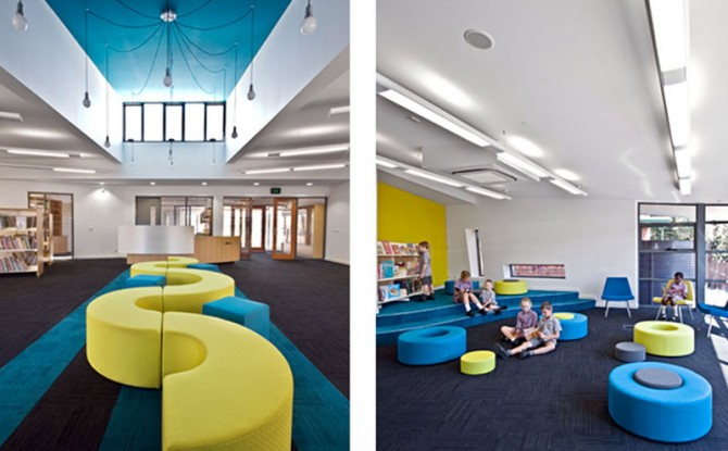 Modern Classroom For Kids ~ Modern interior designs classroom