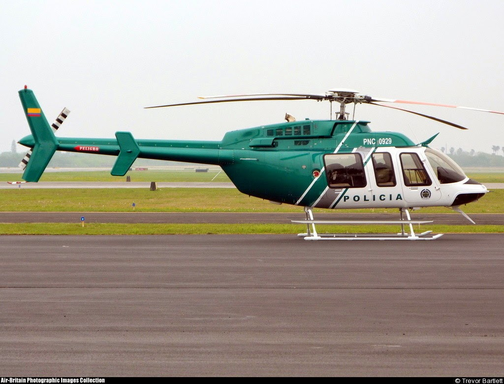 Policia Colombia Bell 407 PNC-0929