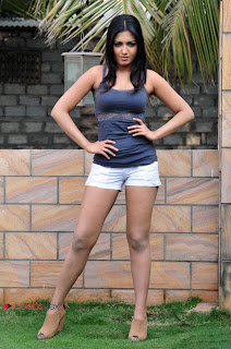 Katherine Theresa Latest Pictureshoot Gallery in Tiny Shorts ~ Celebs Next