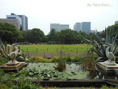 Fountain at Hibiya Garden - Tokyo, Japan