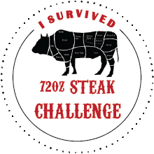 72 Oz Steak Challenge