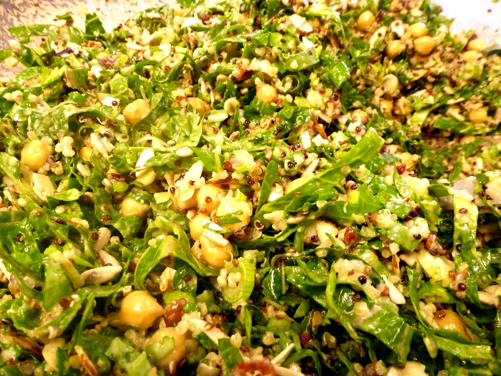... Future: Quinoa & Chickpea Salad + Cumin-Lemongrass-Lime Vinaigrette