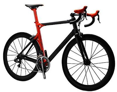 Bicicleta Lamborghini BMC edição limitada