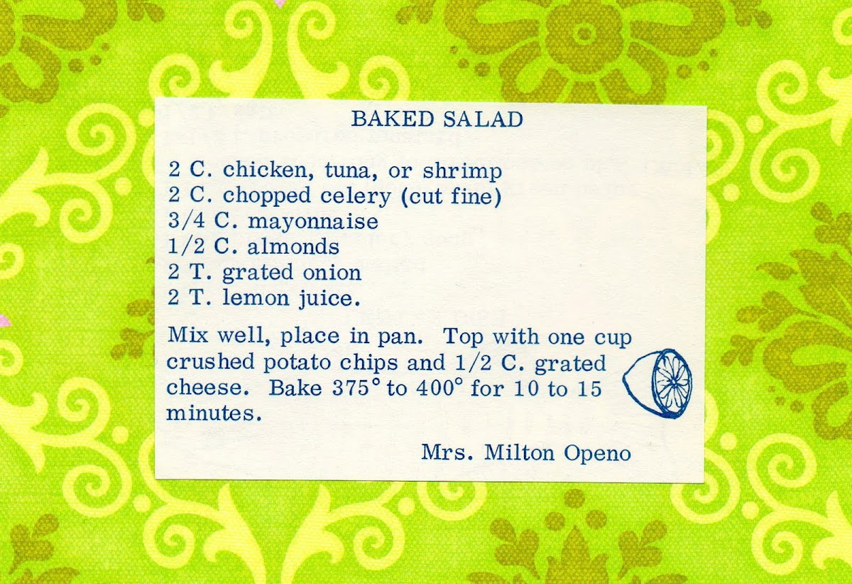 Baked Salad (quick recipe)