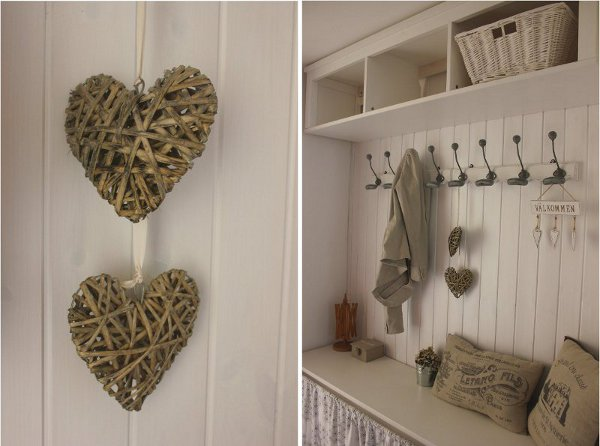 Tutorial come montare le perline home shabby home for Perline legno bianche