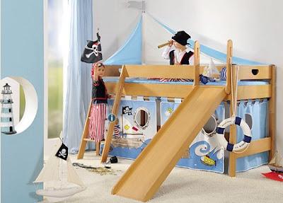 Fotos de camas originales para ni os dormitorios con estilo for Cama original