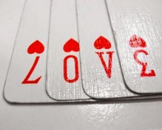 كلام رومانسى حلو للحبيب - كوتشينة اوراق اللعب - playing cards casino poker