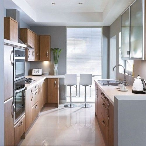 Hogar diez c mo decorar cocinas alargadas for Cocinas de 2 metros