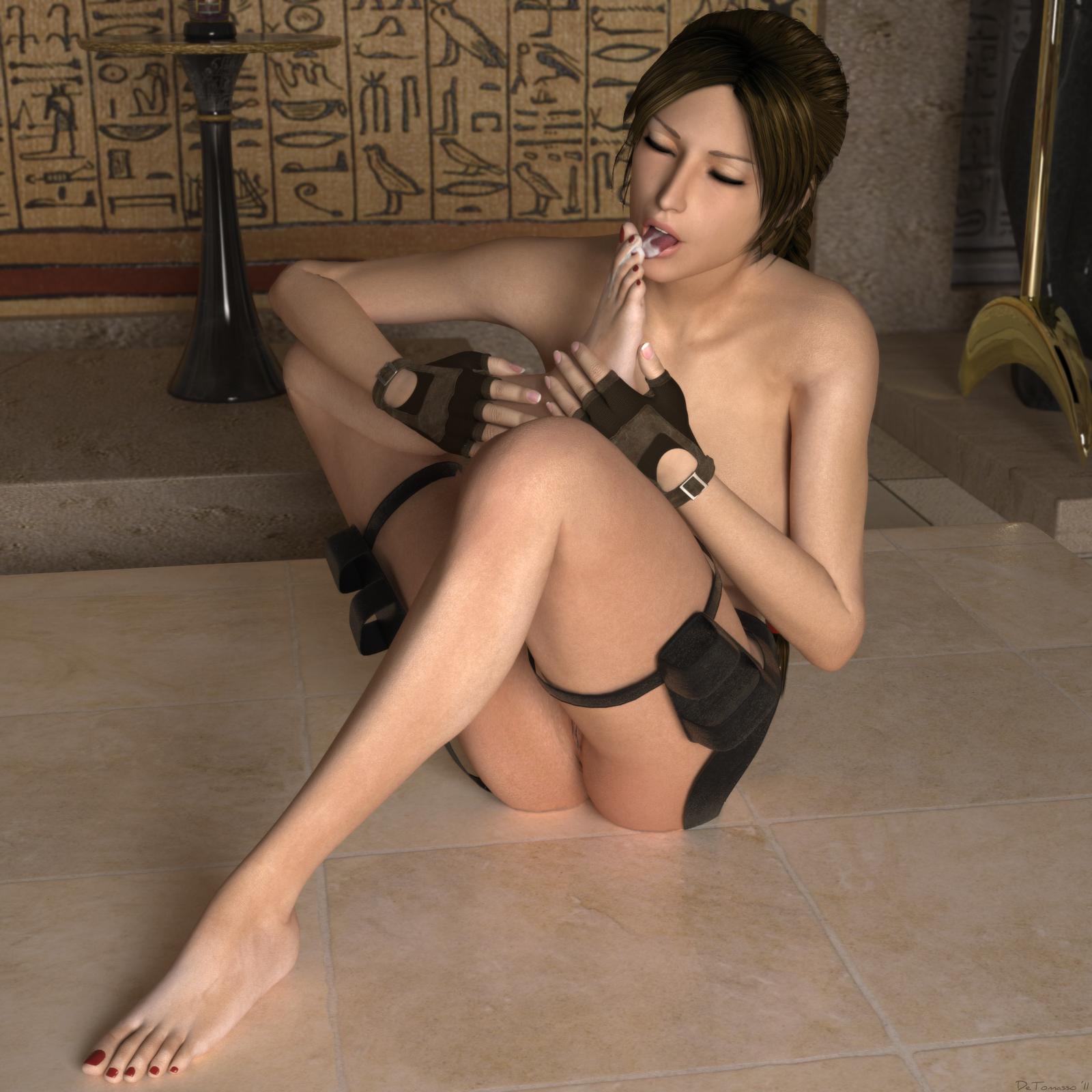 Lara croft 3d pornok nsfw scene