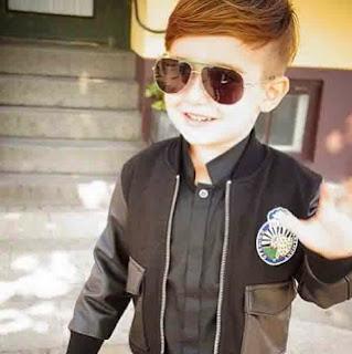 Gambar anak laki-laki keren dengan gaya busana terbaik
