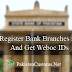 How to Add Bank Branches In Weboc