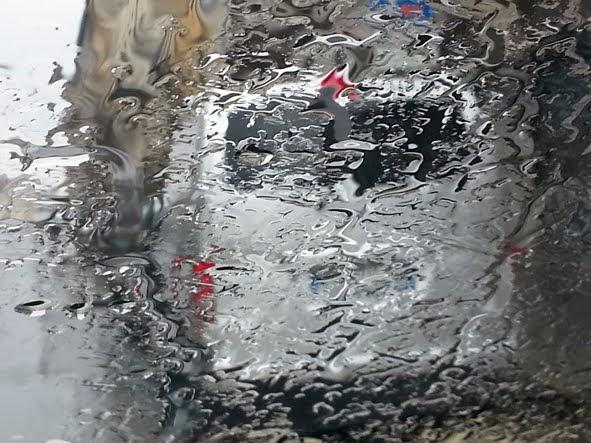 come pioveva
