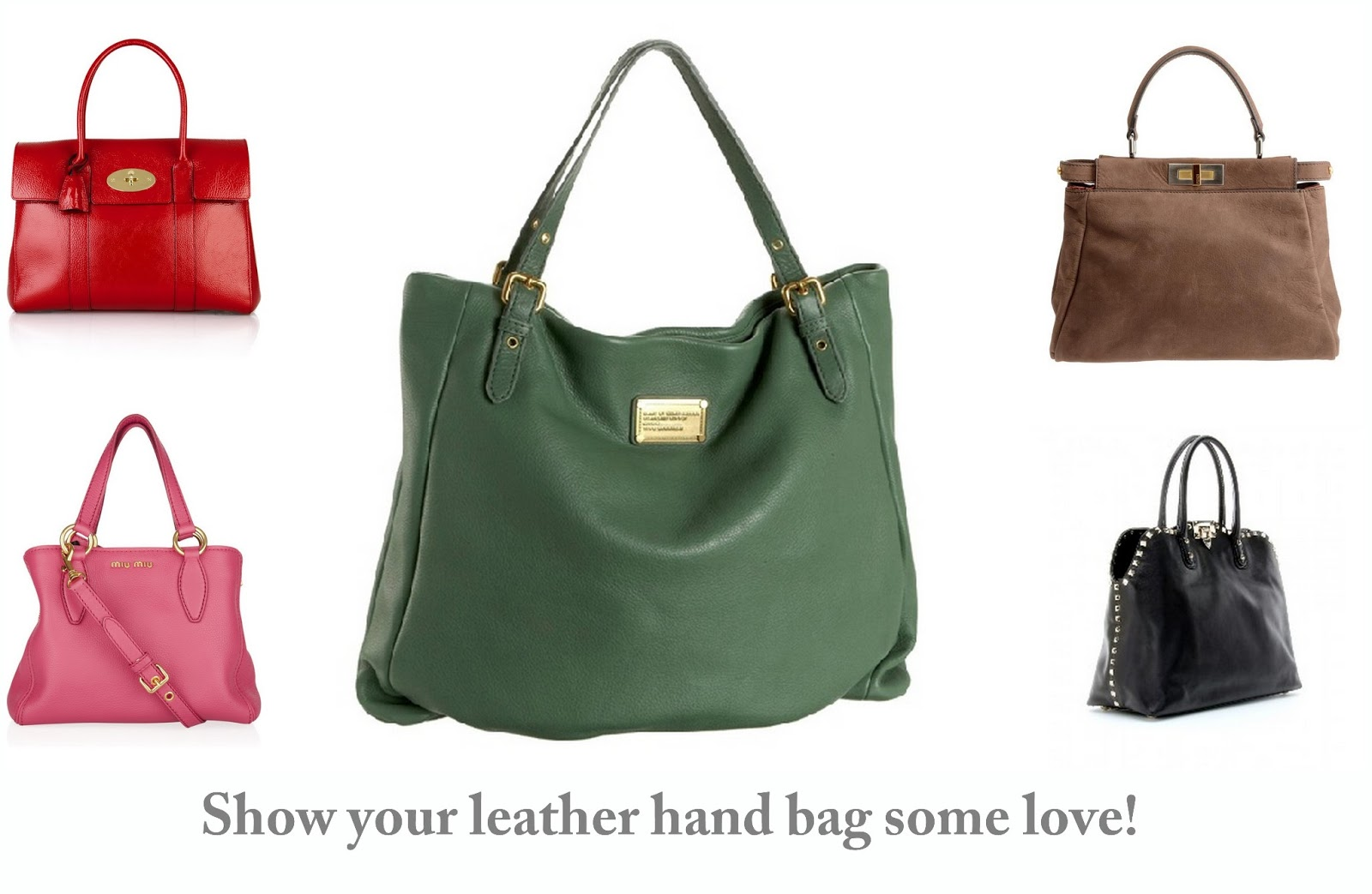 Get Gawjus: How do you take care of your leather hand bags?