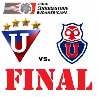 Universidad de Chile Vs Liga de Quito - Final Copa Sudamericana 2011
