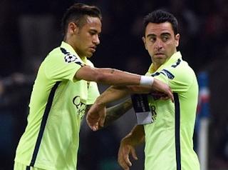 Xavi Menasehati Neymar untuk jaga Sikap