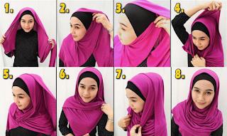 model jilbab pashmina untuk kerja