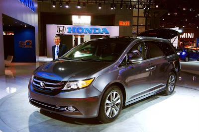 2014 Honda Odyssey Minivan Review, Release Date & Redesign