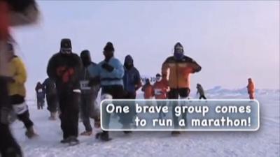 gente corriendo una maraton