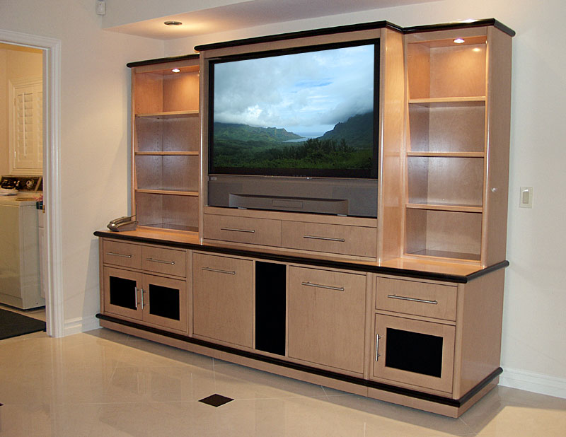 Modern tv cupboard simple home decoration for Interior cupboard designs for hall