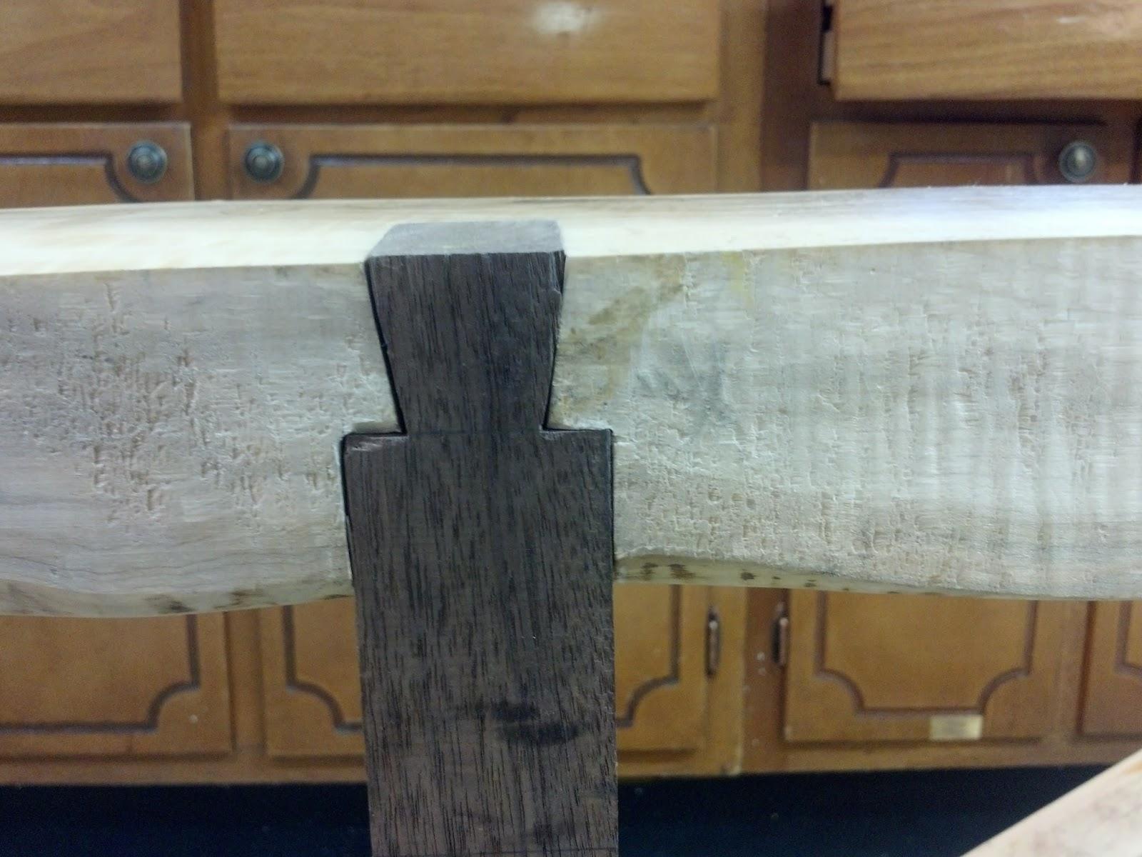 Wv woodshed live edge table progress plywood shelf design