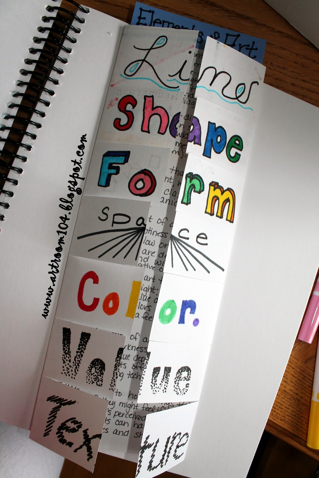 7 Elements Of Art Examples : Art room studio unit common core and marzano