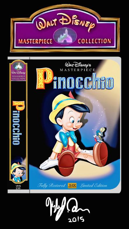 Imaxination's Video Corner: Updated Custom Disney VHS ...