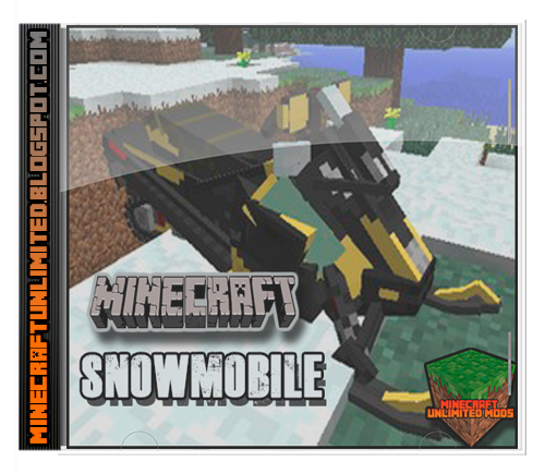 Snowmobile Mod Minecraft