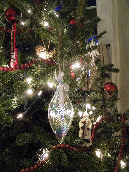 Country Christmas Decorations - My Living Room Decor