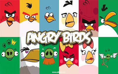 Kumpulan Gambar Wallpapper Angry Bird Lucu Terbaru 2013