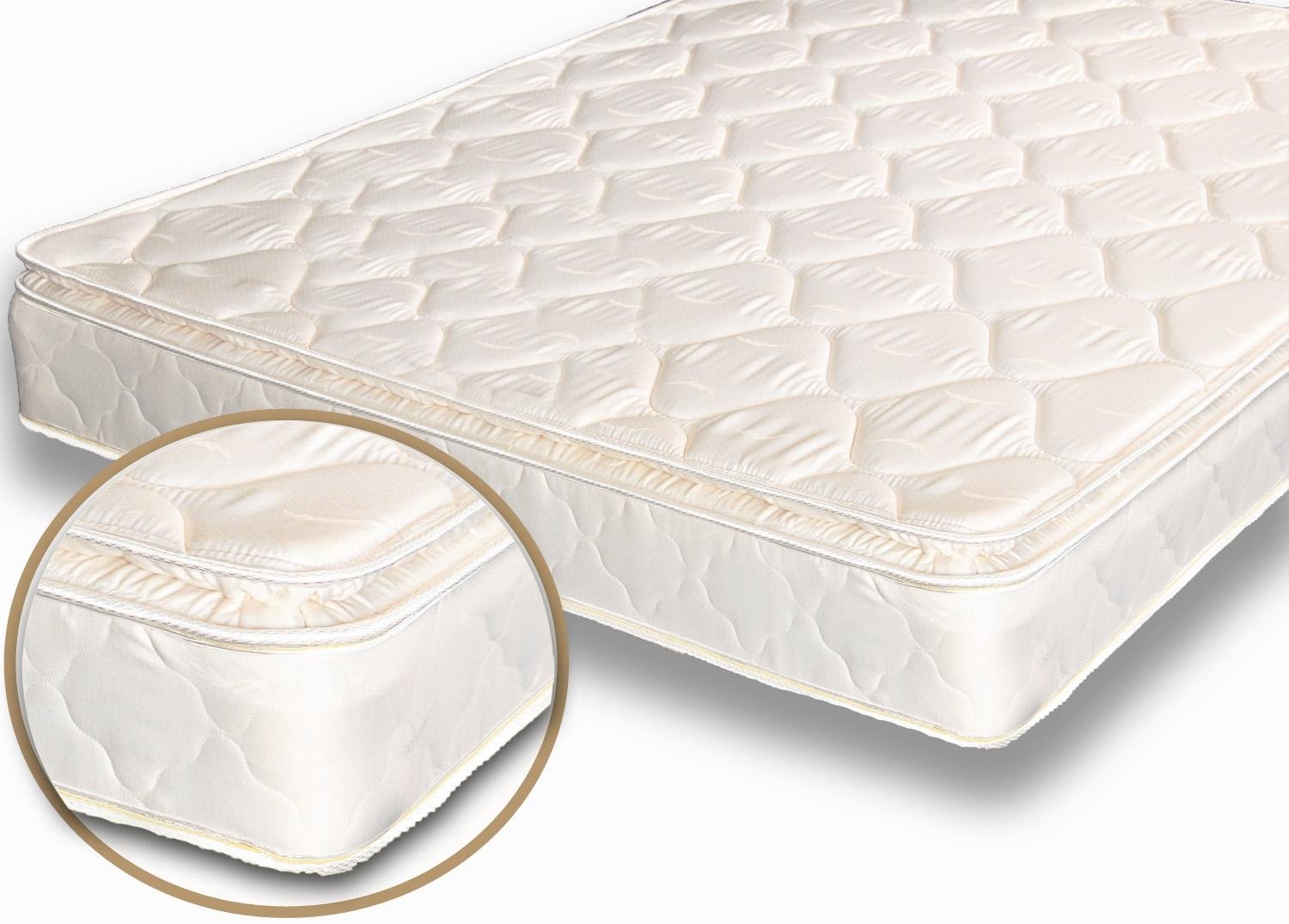 Rv mattress for sale rv mattress soft dreamer innerspring for Best soft bed pillows