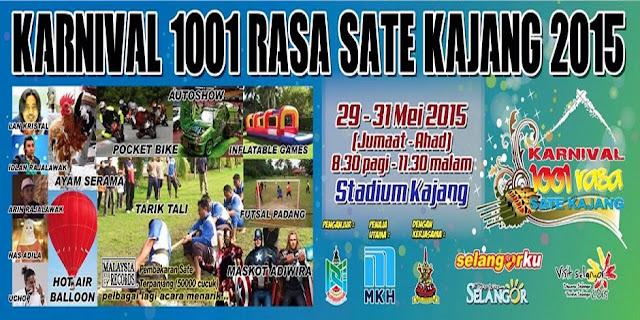 Karnival 1001 Rasa Sate Kajang 2015.