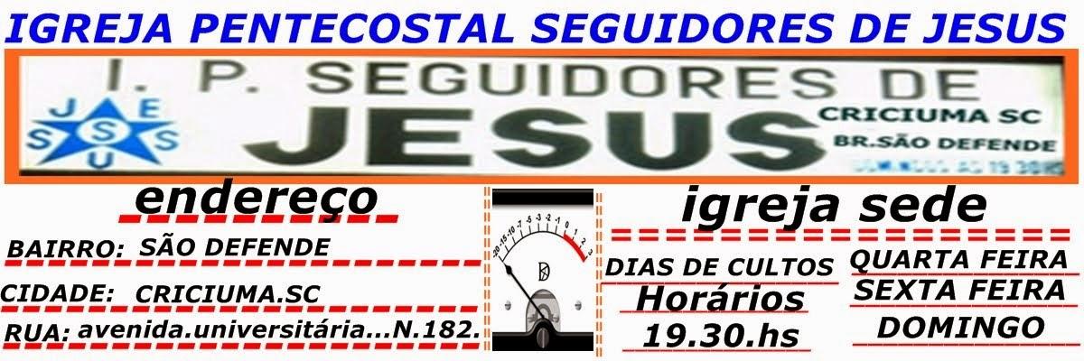 .I.P.SEGUIDORES DE JESUS..