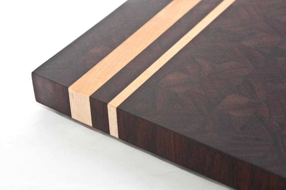 peruvian walnut  maple cutting board  rainydaywoodcrafts, Kitchen design