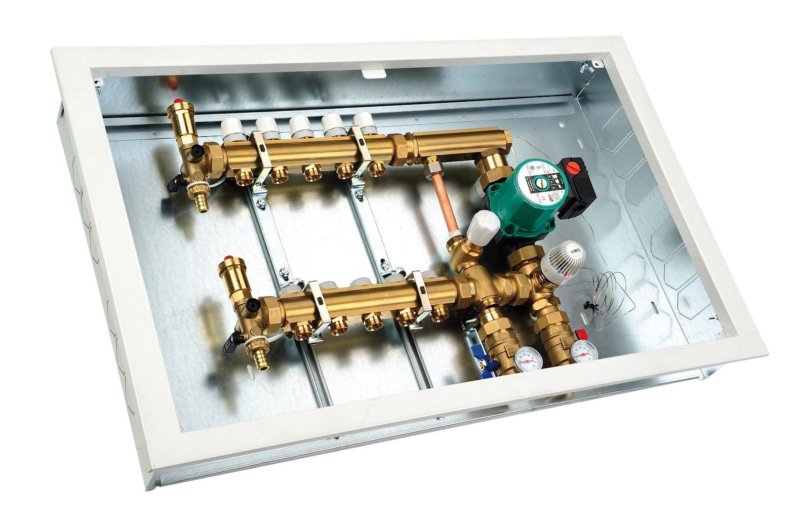 El blog de instal lacions elean sistema de regulaci n a - Caldera para suelo radiante ...