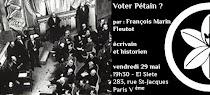 Voter Pétain ?