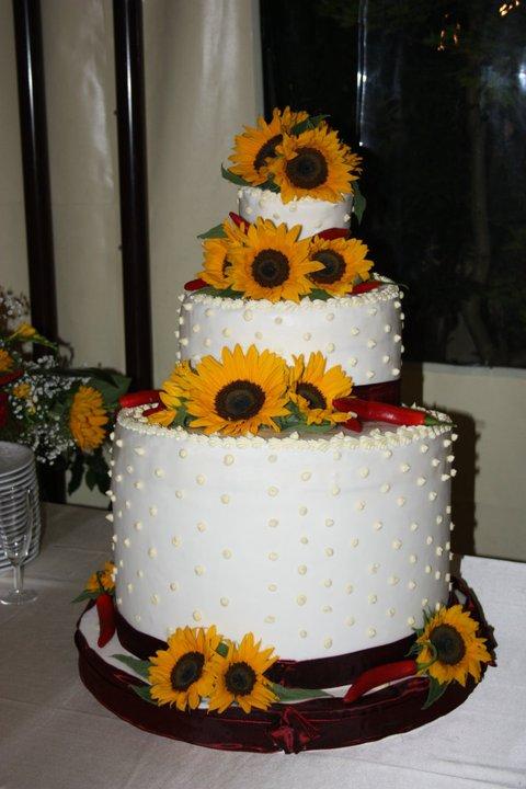 Torte Matrimonio Girasoli : Consigliami il matrimonio qualche idea