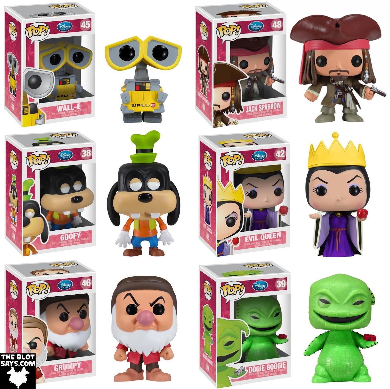 The Blot Says First Look Disney Pop Series 4 Part Ii By Funko Bott Emperors Kronk Vinyl Figures Walle Jack Sparrow