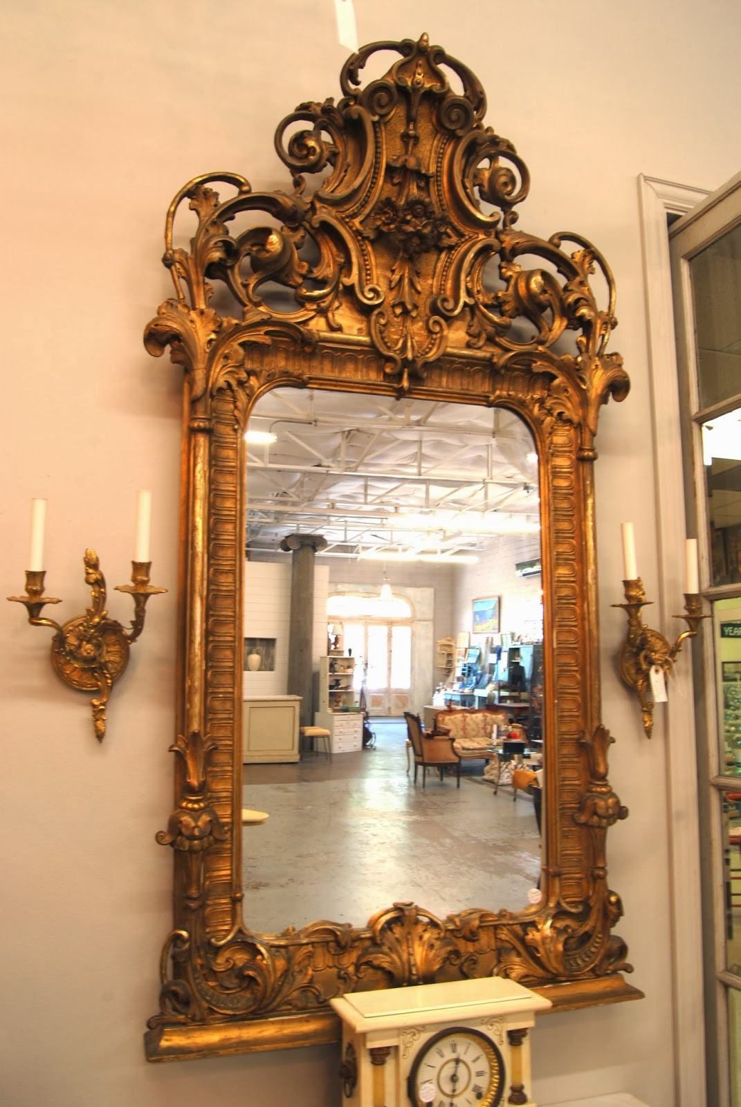 Mirrors of Country Garden Antiques 2